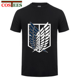 $enCountryForm.capitalKeyWord Australia - 2017 fashion adult New Anime Attack on Titan t shirt women men Cosplay Costumes Black Navy Scouting Legion sweatshirt Unisex Tee