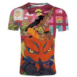 $enCountryForm.capitalKeyWord Australia - 2019 Newest Harajuku Naruto 3D Print Cool T-shirt Men Women Short Sleeve Tshirt Summer Tops Tees Kakashi T shirt Plus Size