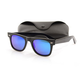 8eb72f539374 Top quality Plank sunglasses glass lens New mens sun glasses Color lens  glasses Brand women sunglasses Mirror unisex Glasses with cases boxs