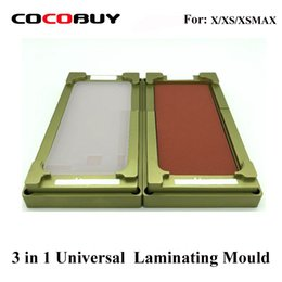 $enCountryForm.capitalKeyWord Australia - Unbent flex mould for iphone X XS Max glass digitizer OCA polarizer film location laminator for universal laminating machine use
