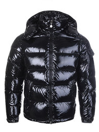 Wholesale red coat zippers resale online - HOT New Men Women Casual Down Jacket Down Coats Mens Outdoor Warm Feather Man Winter Coat outwear Jackets Parkas