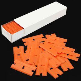 $enCountryForm.capitalKeyWord NZ - Plastic Razor Blades for Razor Scraper Window Car Cleaning Tool Vinyl Tinting Tool Sticker Glue Remove Squeegee