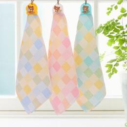 Cotton Soft Muslin NZ - Kids Towels Soft Baby Washcloths Towel Baby Muslin Cotton Face Hand Washcloth Towel Handkerchief For Children Free Shipping