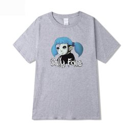 $enCountryForm.capitalKeyWord Australia - Hot Game Sally Face Short Sleeve Fashion t shirt girls boys Summer Hip Hop Harajuku Print Sally Face girls T-shirt Clothes