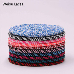 $enCountryForm.capitalKeyWord Australia - Weiou 0.5cm Round Round Twill Checkered Laces Polyester Rope Laces Unisex Women Men Sneaker Shoestring For Shoes Clothing
