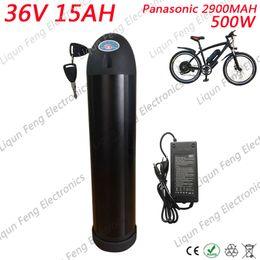 $enCountryForm.capitalKeyWord Australia - US EU No Tax 36V 15AH Water Bottle Battery Pack E-Bike Battery 36V 15AH Li-ion Battery + 2A Charger use for Panasonic cell.