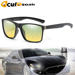 yellow polarized night driving glasses NZ - Day Night Vison Polarized Glasses Men's Polarized Sunglasses Reduce Glare Driving Sun Glass Goggles Gafas