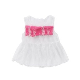 toddler girls shirt dresses Australia - Toddler Infant Girl Lovely T-Shirts Top 2PCS Baby Girls Lace Mini Dress Casual Blouse T Shirt Tube Tops Outfits Clothes Brief