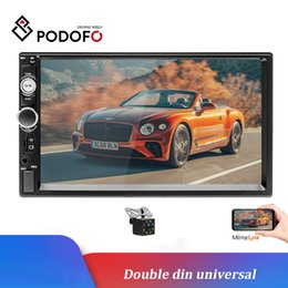 "$enCountryForm.capitalKeyWord Australia - Podofo 2 Din Car Radio 7"" HD Touch Screen Mirrorlink Auto Radio Bluetooth Car Stereo MP5 Car DVD Player 8 IR Rear View Camera"