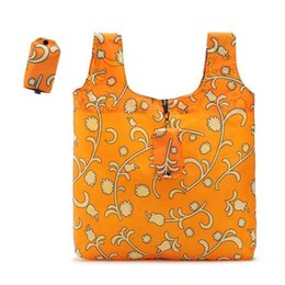 $enCountryForm.capitalKeyWord Australia - Nylon Convenient Shopping Bag Two-in-one Portable Folding Environmental Hand Bag Yellow Supermarket Eco-friendly Pouch Fashion