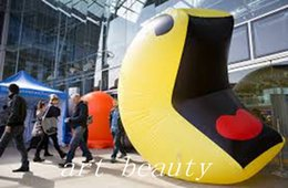 Inflatable For Event Party Decoration Australia - big new advertising ground inflatable smile face balloon happy face balloon for event party decor promotion