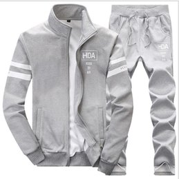 $enCountryForm.capitalKeyWord Australia - brand sporting suit men warm hooded tracksuit track men's sweat suits set letter print large size sweatsuit male 5XL