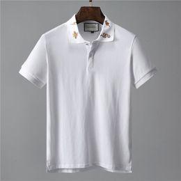 $enCountryForm.capitalKeyWord Australia - Men's Summer Print Polo Shirt Short Sleeve #0107 Slim Fit Business Polos Fashion Streetwear Tops Brand Men Shirts Sports Casual Golf Shirts