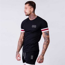 $enCountryForm.capitalKeyWord Australia - Gym Outdoor Sports Fitness Men's T-shirt Comfortable Leisure Fashion New Short Sleeve Digital Printing Hot selling T-shirt