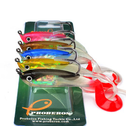 Fishing Led Jig Lure Australia - 1 Pcs Soft Silicone Lures 14.7 10 Cm Lead Head Jig Fishing Lures Softbaits Fish Single Hook Artificial Bait Supplies Tackles