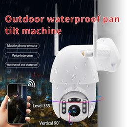 outdoor ptz dome camera waterproof NZ - Outdoor PTZ Wireless CCTV IP Camera Wifi Move Detection Infrared Night Vision Waterproof Surveillance RJ45 Wifi Dome Camera