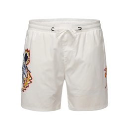 a794000774 Mens surf board shorts online shopping - High quality Stripe embroidery  Board Shorts Mens Summer Tiger