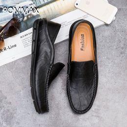 $enCountryForm.capitalKeyWord Australia - Men's Dress Shoes Fashion Genuine Leather Loafers Man Shoes Soft Slip on Boat Zapatos Hombre Tenis Masculino Adulto