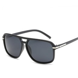 $enCountryForm.capitalKeyWord Australia - New Oversized Sunglasses Men Polarized Mirror Goggles Driving Sun Glasses for Men Brand Designer Retro H D Driver Sunglasses