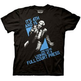 Shirt Naked Printed Australia - The Naked Gun Full Court Press Men's T-Shirt, XX-Large