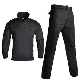 $enCountryForm.capitalKeyWord Australia - US Army Uniform Camouflage Suit Hunting Clothes Tactical Combat Uniform Multicam Shirt + Pants