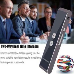 venda por atacado 2019 Mais recente moda T8 instantâneo Voice Translator Mini portátil Bluetooth Wireles Intelligent Interpreter 40 Idiomas Hot Sale
