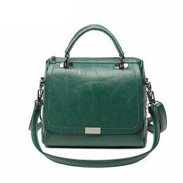 Top Ladies Handbags Australia - good quality Brand Women Casual Tote Top-handle Bag Soft Pu Leather Female Shoulder Bag Ladies Fashion Handbag For Girls Messenger Bag