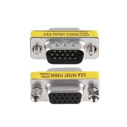 svga adapter NZ - Ti-mesh TI-M-F 15 P Mesh Svga Kvm Vga Hd DB15 Mini Gender Changer Adapter Ship from Turkey HB-000453072