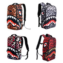c81471a4536b iMaySon Primary Boy Unisex Cute School Bags Cool Leopard Shark Backpack for  Students Schoolbag Boys Girls Backpacks Book Bag Kids Best Gift