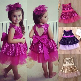 $enCountryForm.capitalKeyWord Australia - Sleeveless Ball Dress 3 colors Baby girls Princess dresses Wedding Bow Evening dress Tutu kids designer girls dresses JY351