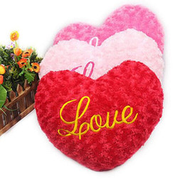 $enCountryForm.capitalKeyWord NZ - Love for you love Plush Love Heart Shape Pillow Cushion Toys Gifts for Girlfriend Wife Kids