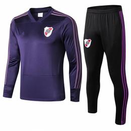 novo 2019-20 Mexican Club Américas Chivas Monterrey leito do rio 18 19 20 Real Madrid homens 'treino adulto terno magro venda por atacado