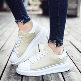 41d077b47 Tenis Feminine Adulto 2019 Spring Fashion Men Canvas Shoes Couple Female  Height Increasing Vulcanized Shoes Male Flats Sneakers  183904