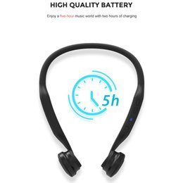 $enCountryForm.capitalKeyWord Australia - New Coming Best Quality sport Wireless Earphone Headphone Smart Bone conduction Headset With Stereo sound as gift for Xmas