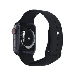 China Magnetic Adsorption Wireless Charging Goophone Watch 4 Smart Watch 44mm Bluetooth 4.0 MTK2502C Wearable Smartwatch for iPhone XS MAX XR X cheap camera android suppliers