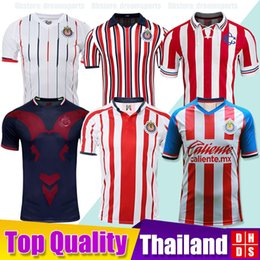 dff52dad41d New 2019 2020 LIGA MX Club Chivas de Guadalajara Soccer Jersey Kit 18 19 20  Camisa de Futebol Home Third Jerseys PULIDO Football Shirts
