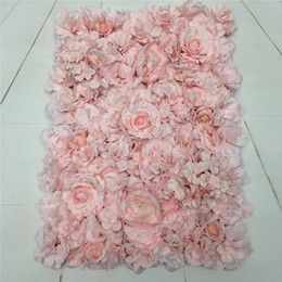 Wholesale Baby Pink Rose Embroidery Ball Pair Simulation Pair Wedding Landscape Home Decoration Shop Decoration Fake Flower Silk Flower