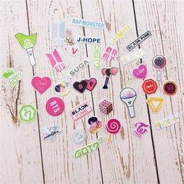 $enCountryForm.capitalKeyWord UK - BTS TXT GOT7 Cute Bubble Stickers Twice Blackpink Seventeen Laptop Scrapbook Decorative DIY Stickers Fan Gift