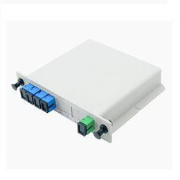 $enCountryForm.capitalKeyWord Australia - 2pcs 1*4 LGX Module PLC Splitter SC UPC Fiber adapters Single Mode FTTH LGX Box PLC Optical Splitter