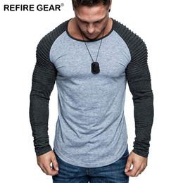 $enCountryForm.capitalKeyWord Australia - Refire Gear Spring Outdoor Running T Shirt Men O-neck Long Sleeve T-shirts Climbing Hiking Hunting Sports Slim Fit Streetwear