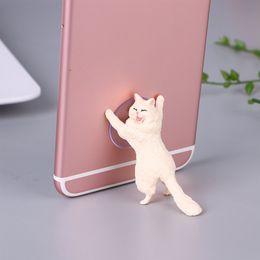 $enCountryForm.capitalKeyWord Australia - Cute Cat For Iphone X Xs Max Samsung S9 Smartphone Mobile Bracket Tablet Stand Desk Phone Holder