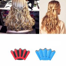 $enCountryForm.capitalKeyWord Australia - 1Pcs Hair Styling Tool Charming French Style Women DIY Sponge Hair Braider Plait Twist Braiding Tool Accessorie