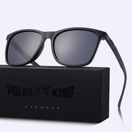 stylish branded sunglasses 2020 - Polarking Brand New Design Polarized Sunglasses Eagle Hawk Accessories Trend Stylish UV400 Protection Shades Oculos Gafa