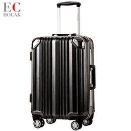 Spinner Carrying Case Australia - Luggage Frame Travel suitcase Rolling Spinner Luggage 20 24inch carry-on box travel bags Woman suitcase with wheel trolley case