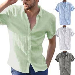 Wholesale men's v neck dress shirt for sale – oversize Fashion Men s Summer Casual Dress Shirt Mens Short Sleeve Shirts Tops Blouse Tee