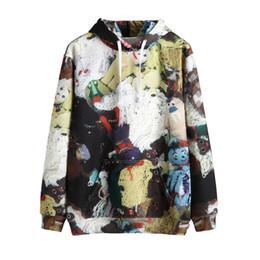 Best women toys online shopping - 2019 Best Version Full Toys Printed Women Men Hoodies Sweatshirt Hiphop Streetwear Men Cotton Pocket Hoodies Pullover