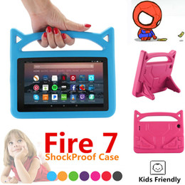 $enCountryForm.capitalKeyWord Australia - 7 inch Kids EVA Foam Handle Case Cover Stand For Amazon Fire 7 Tablet 2017  2015