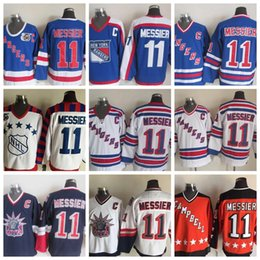 1998 Liberty Vintage  11 Mark Messier Jerseys Mens All-Star New York  Rangers Mark Messier Hockey Jerseys Cheap Top Quality Stitched 75th 1a3706244