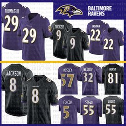 467da449b36 Lamar jackson jersey online shopping - 8 Lamar Jackson Baltimore Jersey  Ravens Earl Thomas Justin Tucker