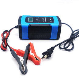 $enCountryForm.capitalKeyWord Australia - 12V 6A LCD Smart Fast Car Battery Charger for Auto Motorcycle Lead-Acid AGM GEL Batteries Intelligent Charging 12 V Volt 6 A AMP